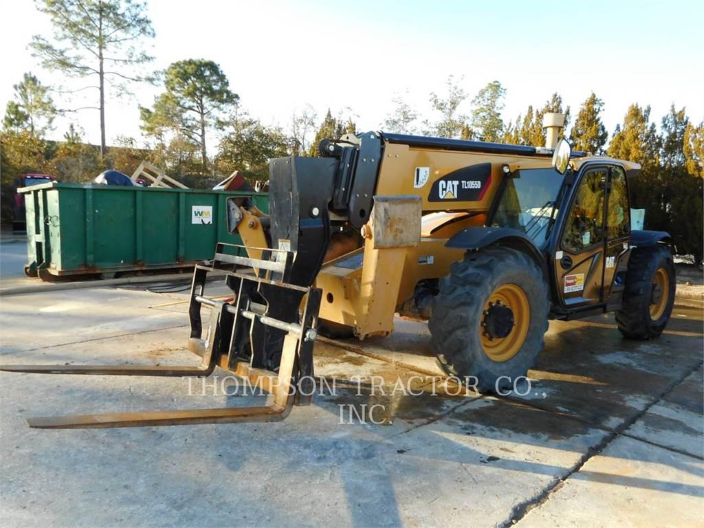 Caterpillar TL1055D, manipulador telescópico, Equipamentos Construção