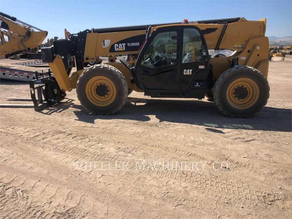 Caterpillar TL1055D CB, telehandler, Construction