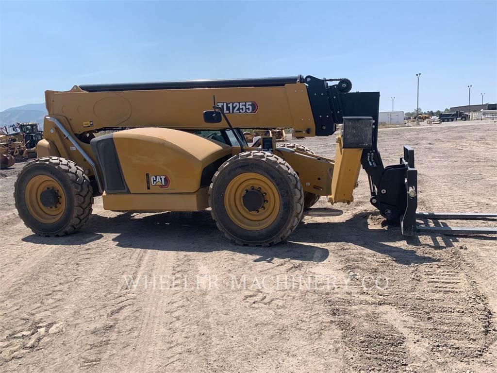 Caterpillar TL1255-05, telehandler, Construction