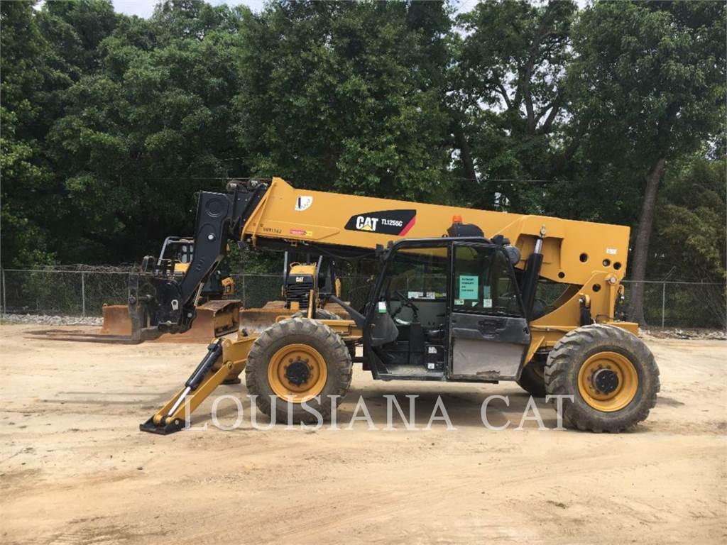 Caterpillar TL1255C, telehandler, Construction