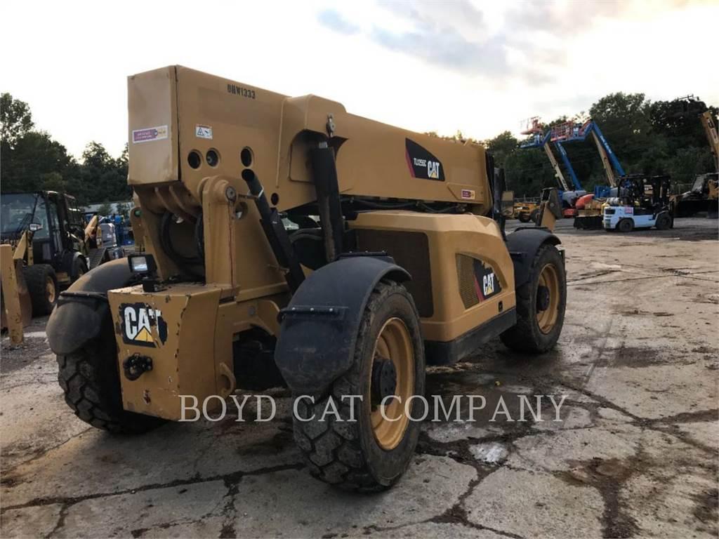 Caterpillar TL1255C, manipuladores telescópicos, Construcción
