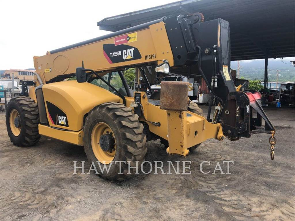 Caterpillar TL1255D, motor graders, Construction