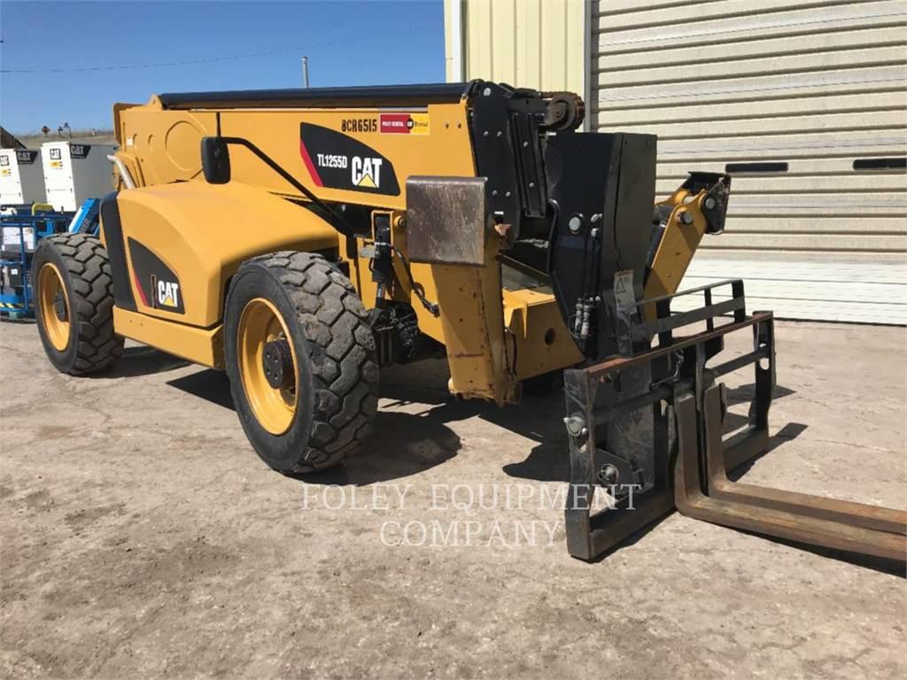 Caterpillar TL1255D, telehandler, Construction