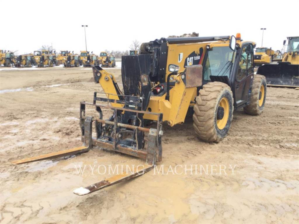 Caterpillar TL1255D, chargeur à bras télescopique, Équipement De Construction
