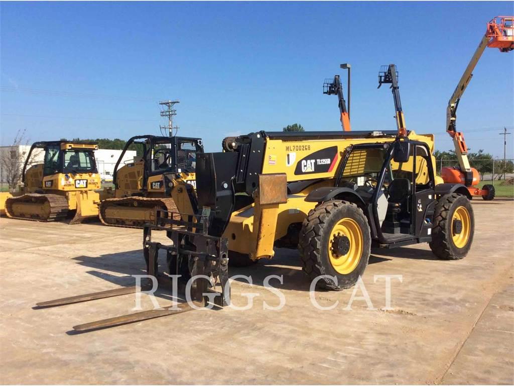 Caterpillar TL1255D, manipuladores telescópicos, Construcción