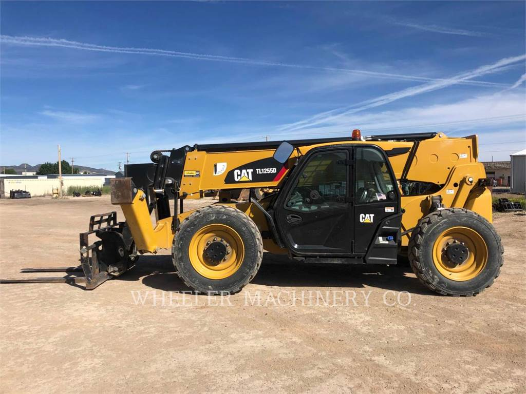 Caterpillar TL1255D CB, telehandler, Construction