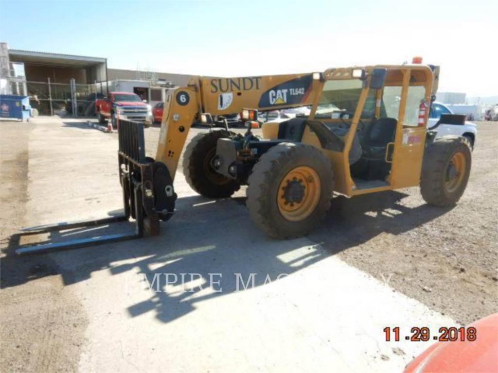 Caterpillar TL642, teleskopstapler, Bau-Und Bergbauausrüstung