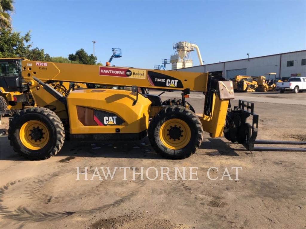 Caterpillar TL642C, telehandler, Construction