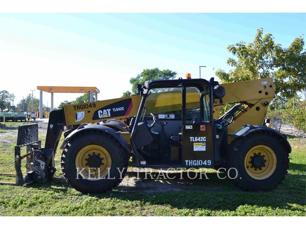 Caterpillar TL642C, chargeur à bras télescopique, Équipement De Construction