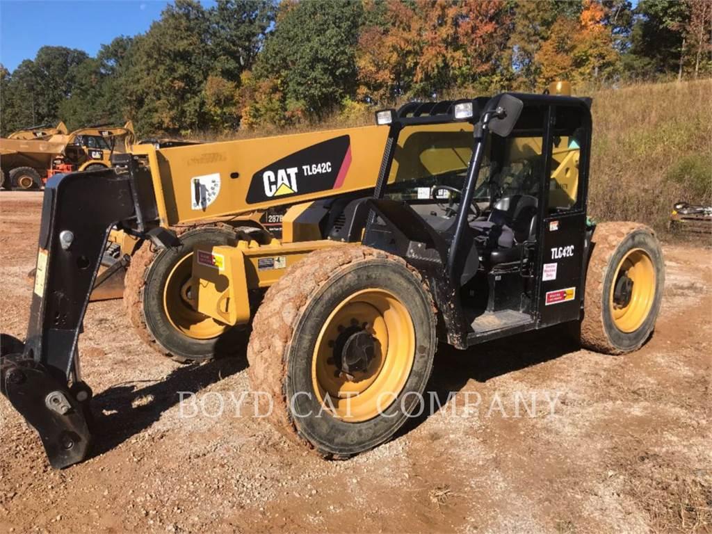 Caterpillar TL642C, teleskopstapler, Bau-Und Bergbauausrüstung