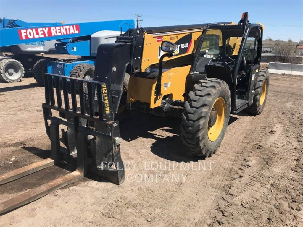 Caterpillar TL642D, telehandler, Construction