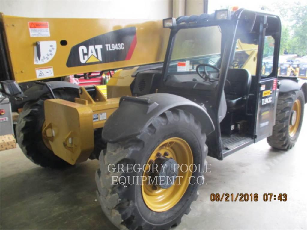 Caterpillar TL943C, verreiker, Bouw