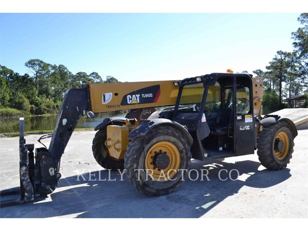 Caterpillar TL943C, chargeur à bras télescopique, Équipement De Construction