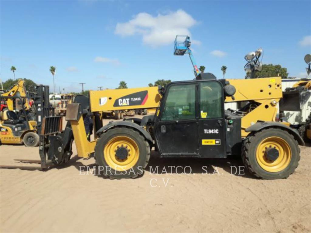 Caterpillar TL943C, telehandler, Construction