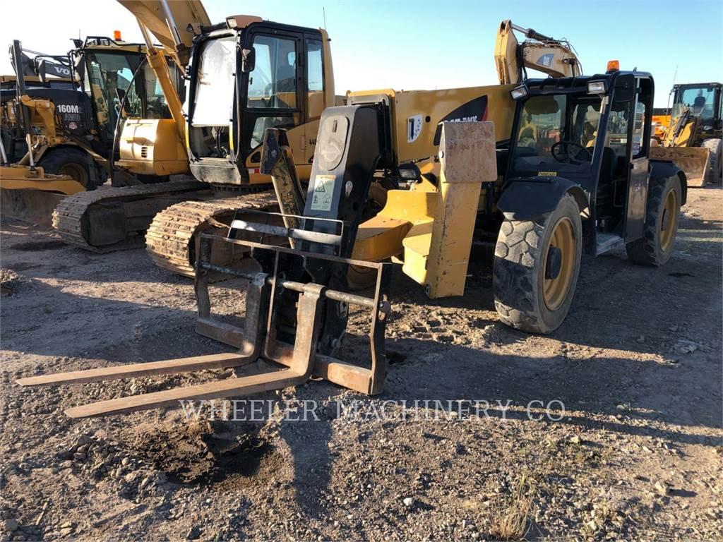 Caterpillar TL943C CPY, telehandler, Construction