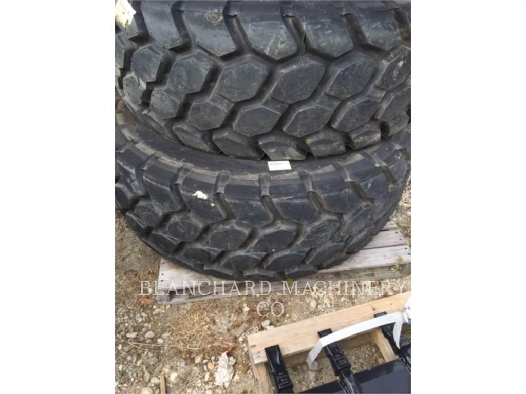 Caterpillar TR20, tires, Construction