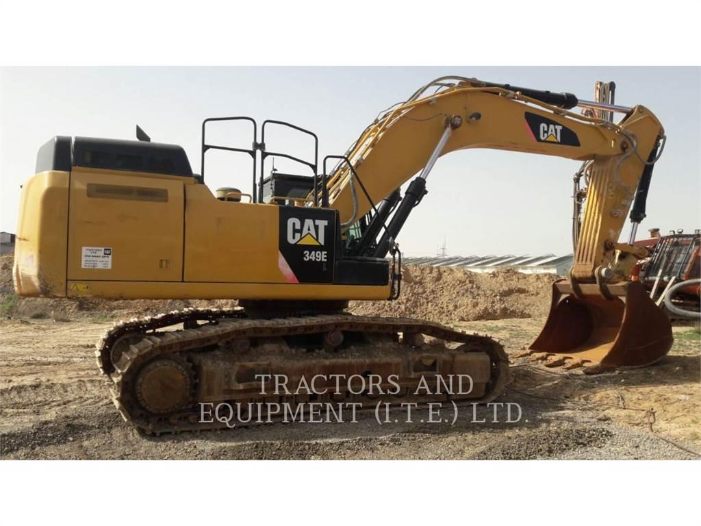 Caterpillar TRADE-IN 349E, Crawler Excavators, Construction