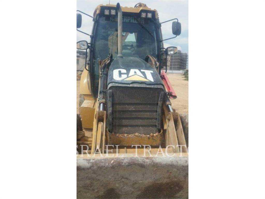 Caterpillar TRADE-IN 432E, buldoexcavatoare, Constructii