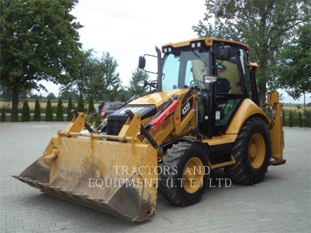Caterpillar TRADE-IN 432F, backhoe loader, Construction