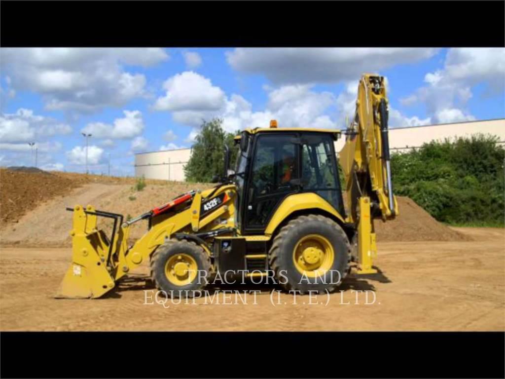 Caterpillar TRADE-IN 432F2, backhoe loader, Construction