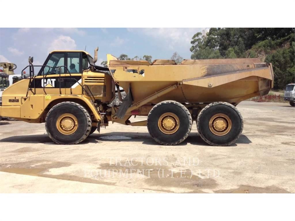 Caterpillar TRADE-IN 730C, Dúmpers articulados, Construcción