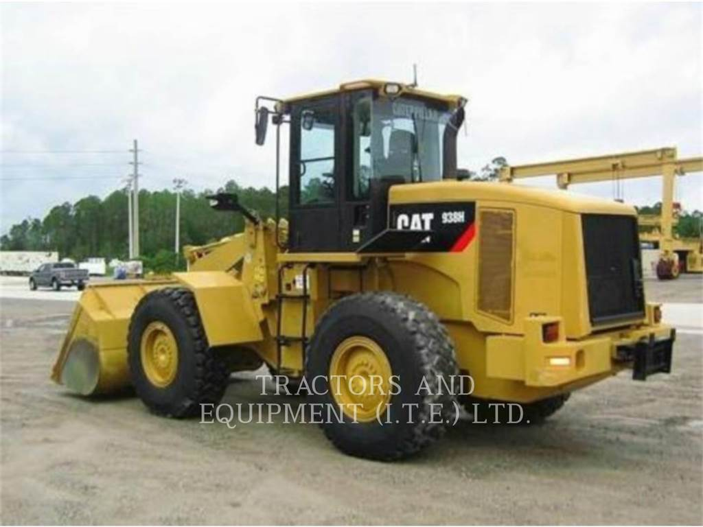 Caterpillar TRADE-IN 938H, Wheel Loaders, Construction