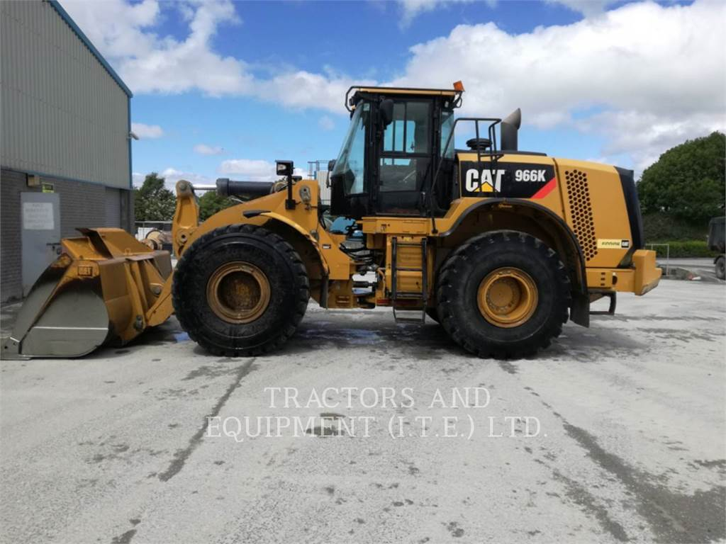 Caterpillar TRADE-IN 966K, Cargadoras sobre ruedas, Construcción