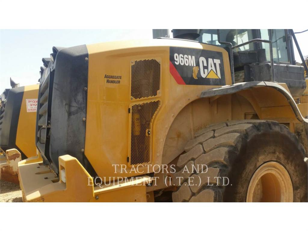 Caterpillar TRADE-IN 966M, Wheel Loaders, Construction