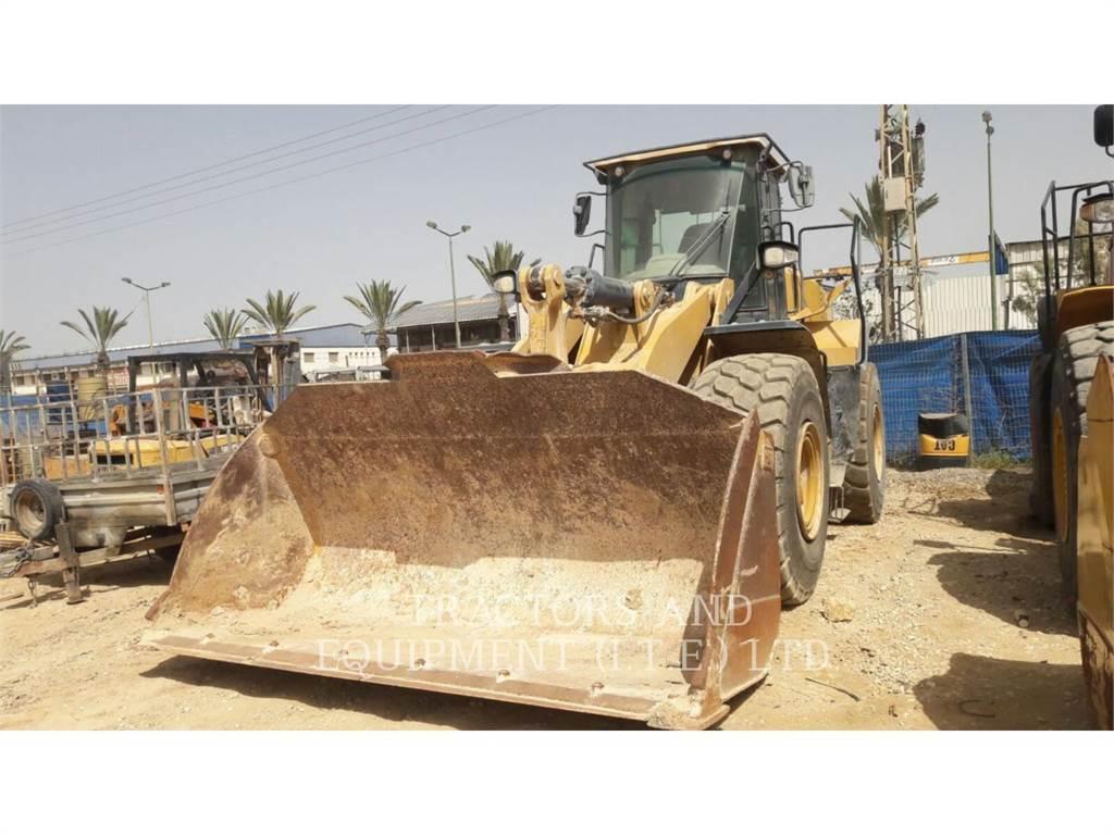 Caterpillar TRADE-IN 966MXE, Cargadoras sobre ruedas, Construcción