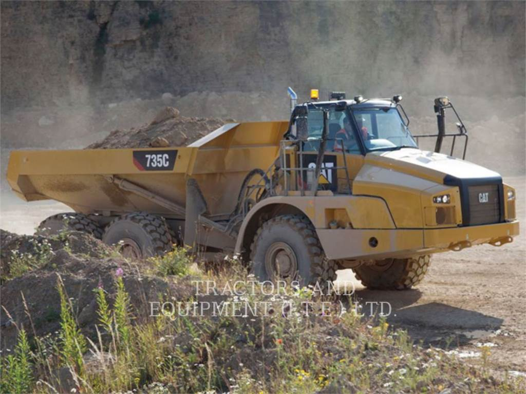 Caterpillar TRADE-IN CAT | 735C, Articulated Dump Trucks (ADTs), Construction