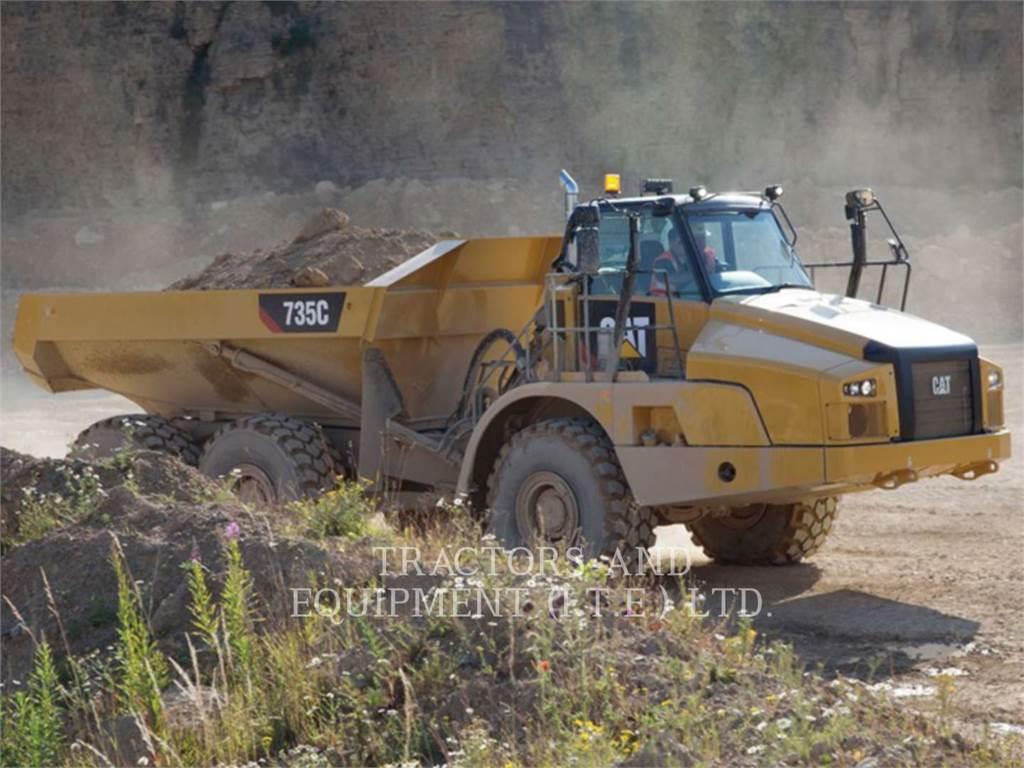 Caterpillar TRADE-IN CAT | 735C, Articulated Dump Trucks (ADTs), Construction
