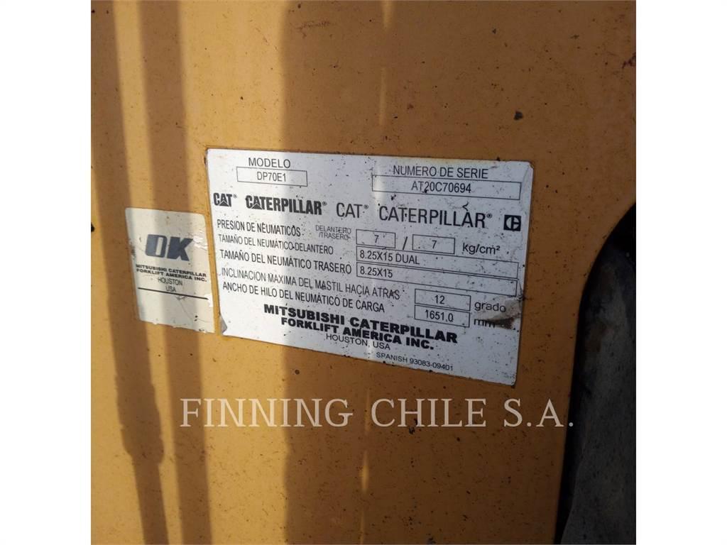 Caterpillar TRADE-IN DP70E, Heftrucks overige, Laden en lossen