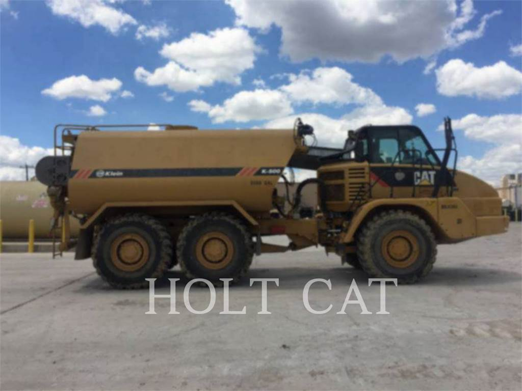 Caterpillar W00 725, watertrucks, Vervoer