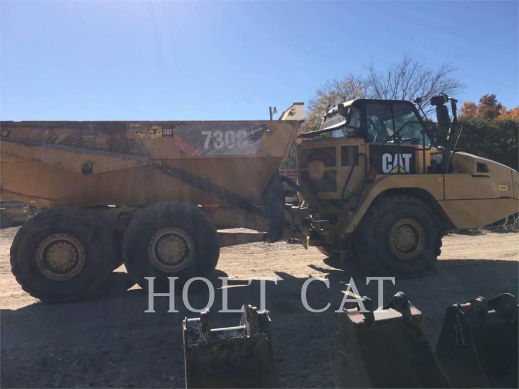 Caterpillar W00 730C, Camiões articulados, Equipamentos Construção