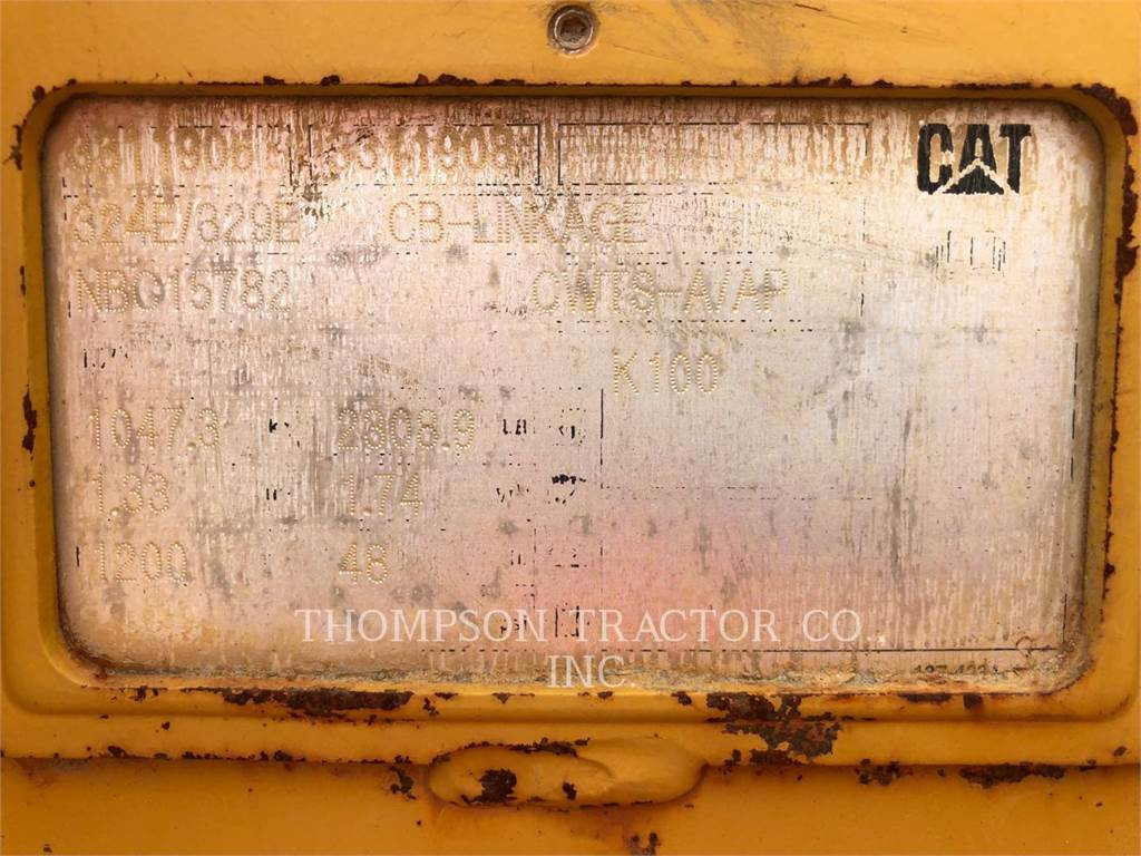 Caterpillar WORK TOOLS (SERIALIZED) 48 CB LINK, ковш, Строительное