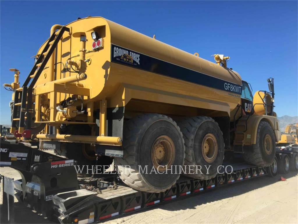 Caterpillar WT 740, Articulated Dump Trucks (ADTs), Construction