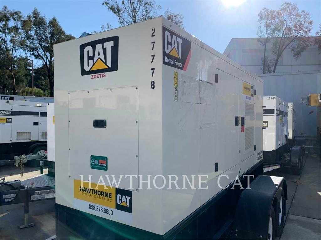 Caterpillar XQ 100, Stationary Generator Sets, Construction
