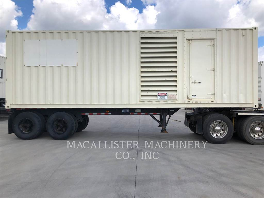Caterpillar XQ 1000, mobile generator sets, Construction