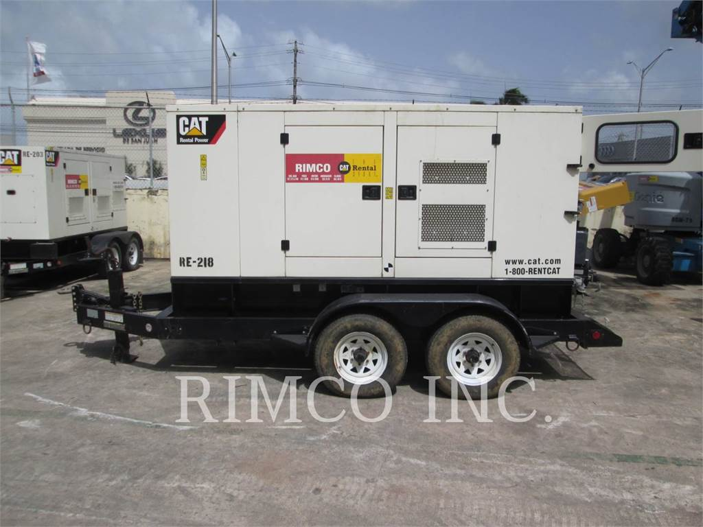 Caterpillar XQ-100N, mobile generator sets, Construction