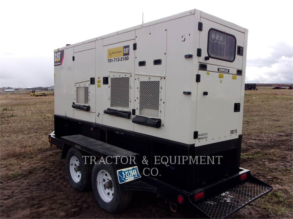 Caterpillar XQ 175, ruchome zestawy generatorów, Sprzęt budowlany