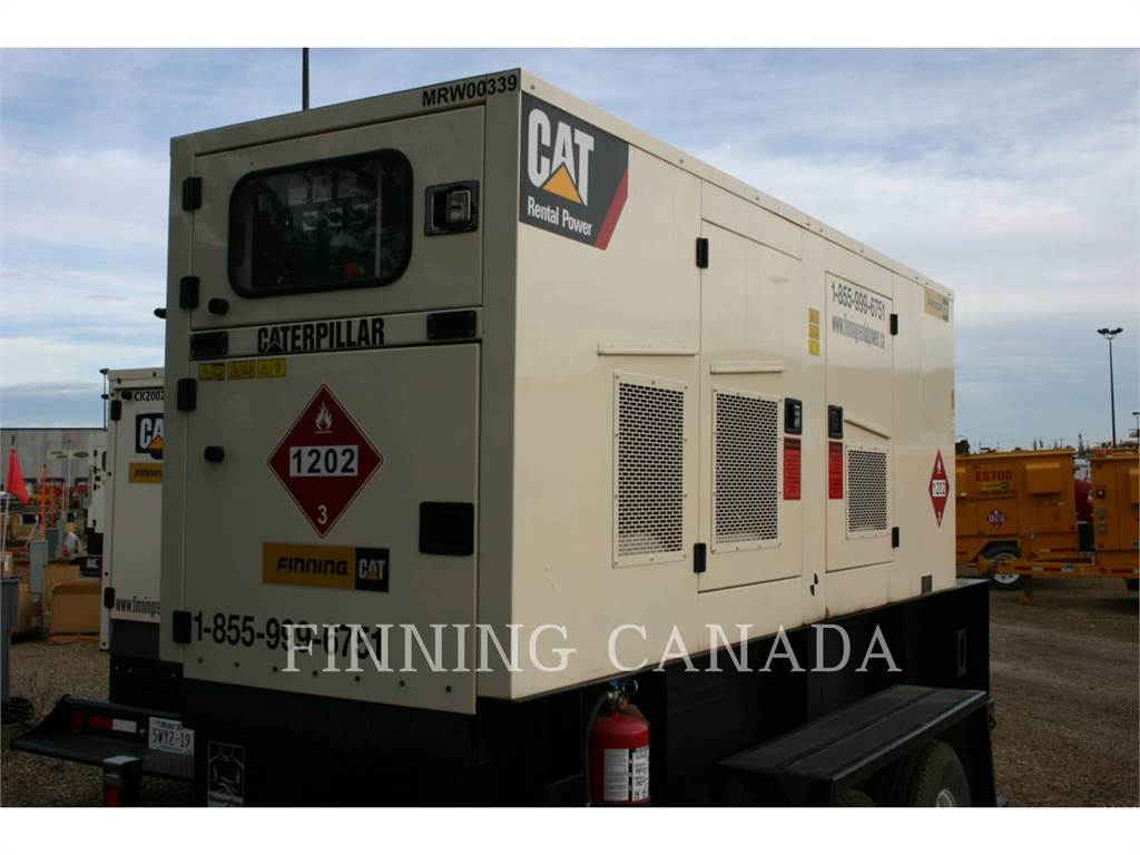 Caterpillar XQ 175, mobile generator sets, Construction
