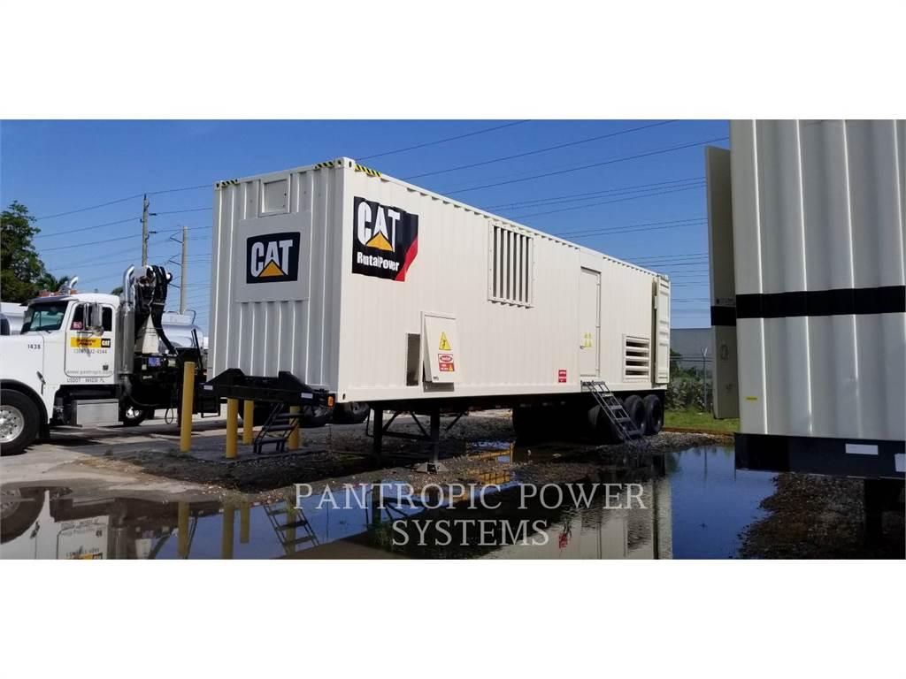 Caterpillar XQ 2000, mobile generator sets, Construction