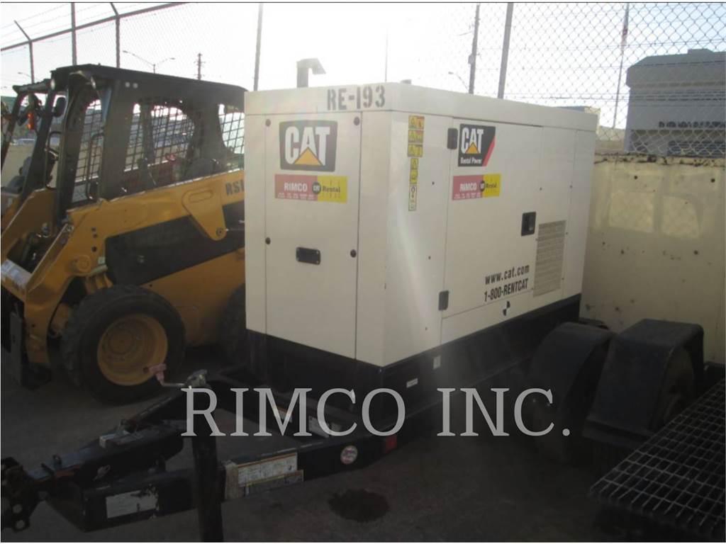 Caterpillar XQ-20N、移動式発電装置、建設