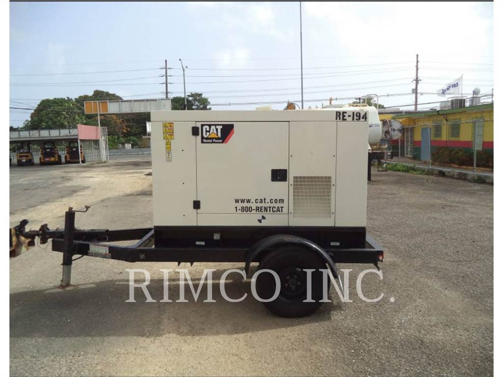 Caterpillar XQ-20N, mobiele generatorsets, Bouw