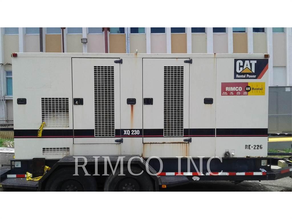 Caterpillar XQ-230、移動式発電装置、建設