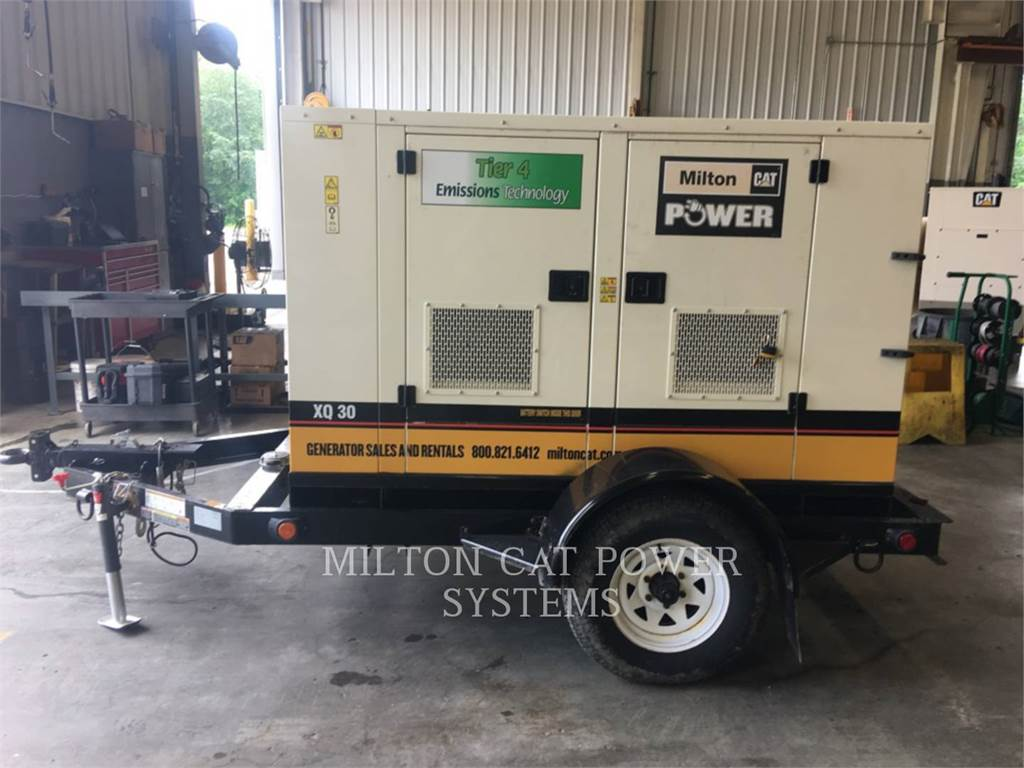 Caterpillar XQ 30, Stationary Generator Sets, Construction