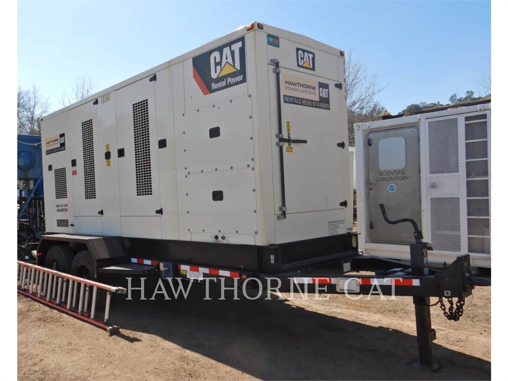 Caterpillar XQ 350, mobile generator sets, Construction