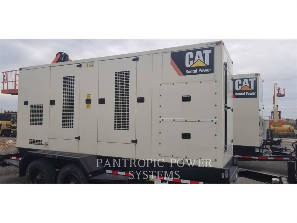 Caterpillar XQ 350, Stationary Generator Sets, Construction