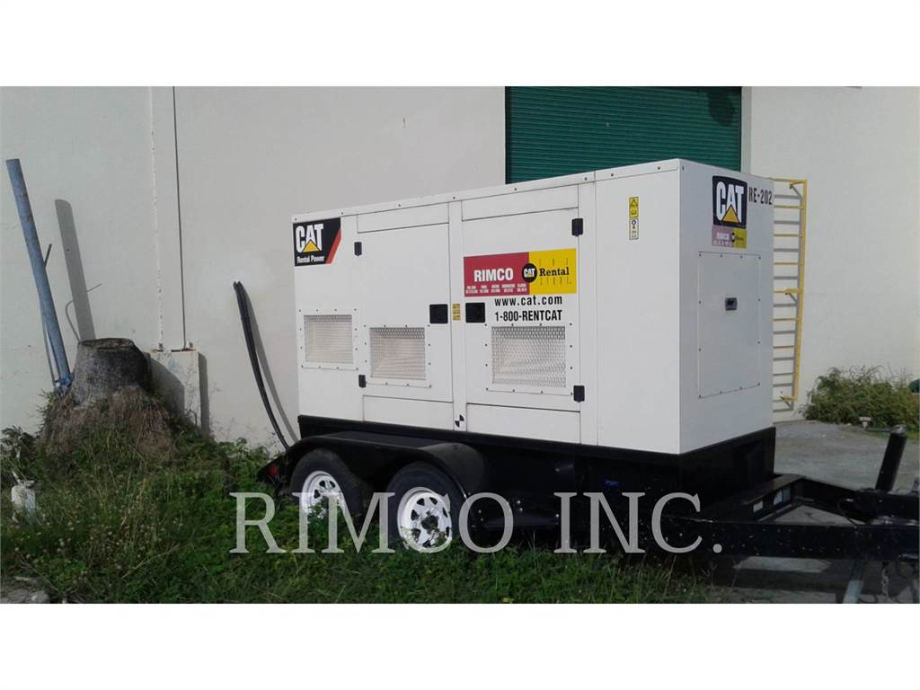 Caterpillar XQ-60, mobile generator sets, Construction