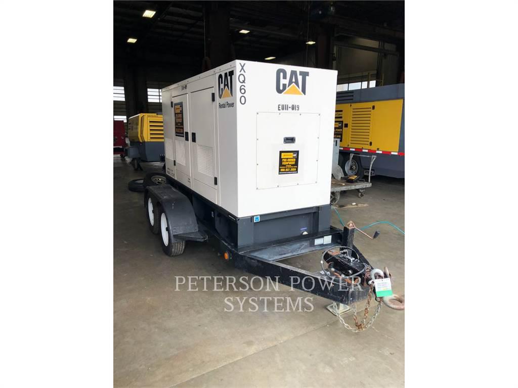 Caterpillar XQ 60、固定式発電機セット、建設